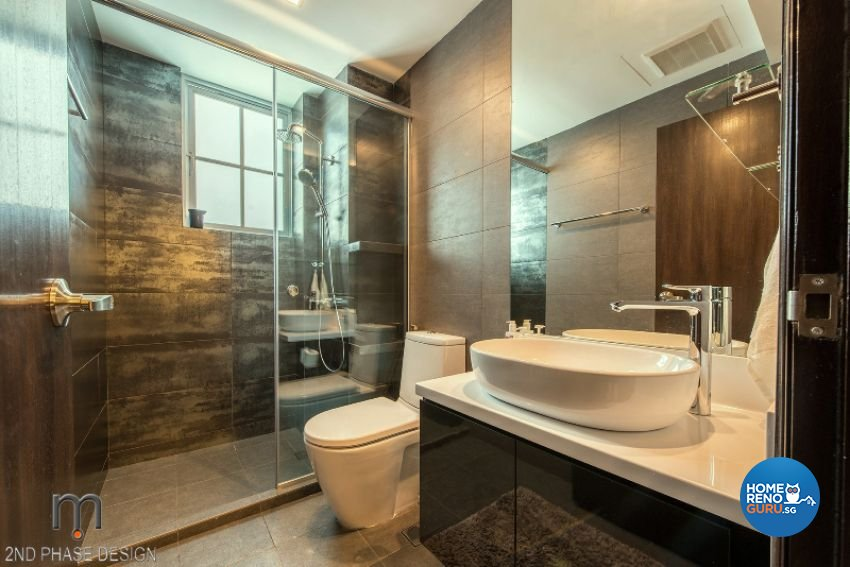 Minimalist, Rustic Design - Bathroom - Condominium - Design by 2nd Phase Design