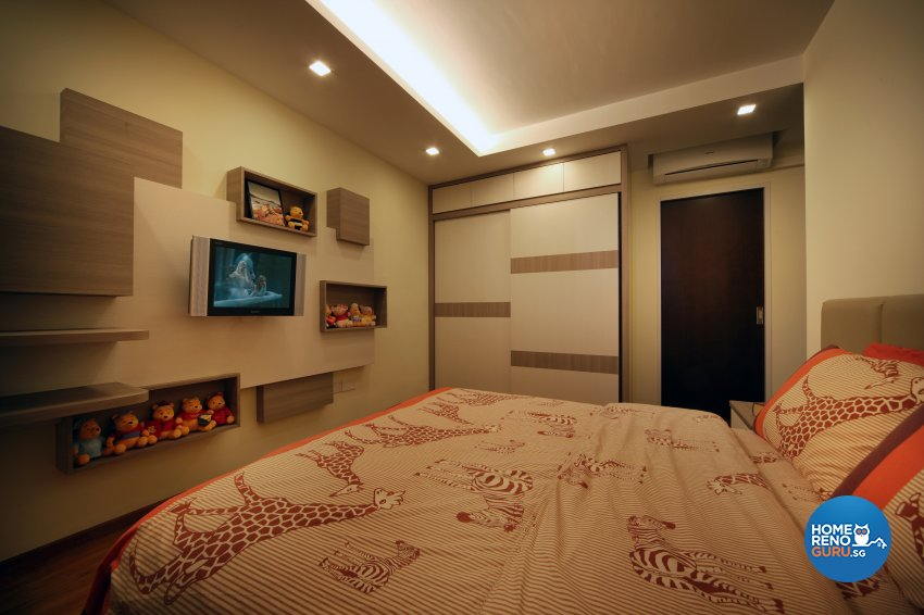 Classical, Minimalist, Rustic Design - Bedroom - HDB 3 Room - Design by 2nd Phase Design