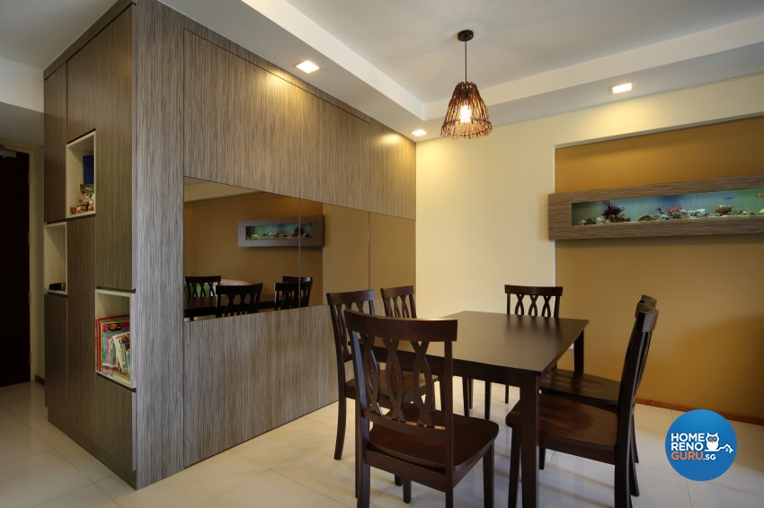 Classical, Minimalist, Rustic Design - Dining Room - HDB 3 Room - Design by 2nd Phase Design