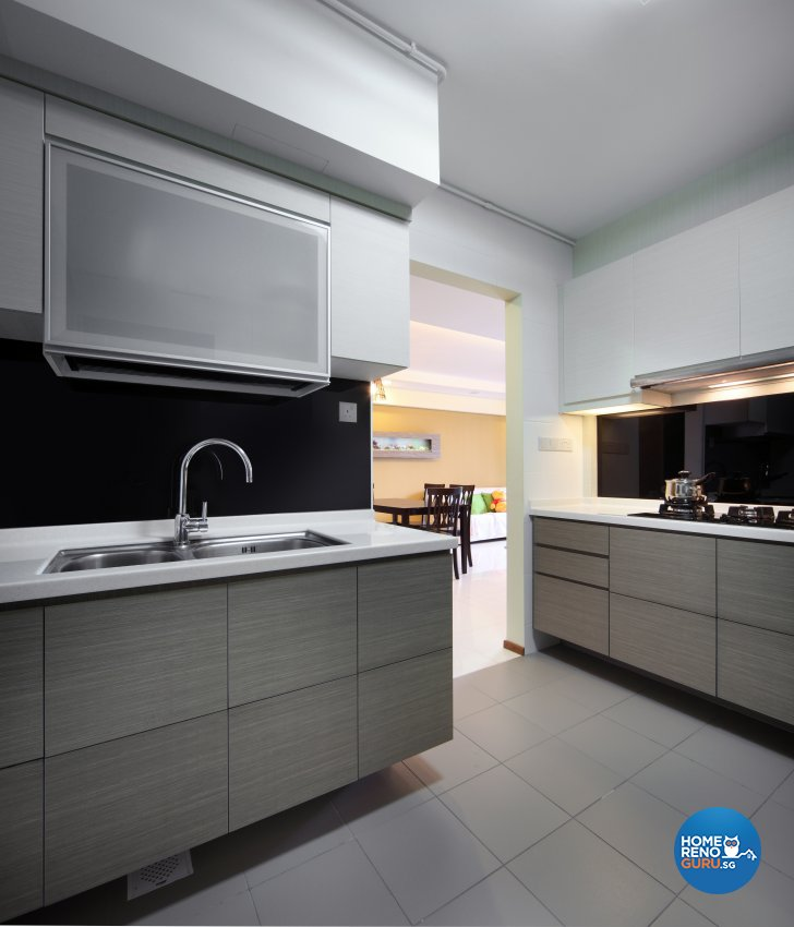 Classical, Minimalist, Rustic Design - Kitchen - HDB 3 Room - Design by 2nd Phase Design