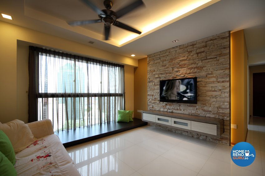 Classical, Minimalist, Rustic Design - Living Room - HDB 3 Room - Design by 2nd Phase Design
