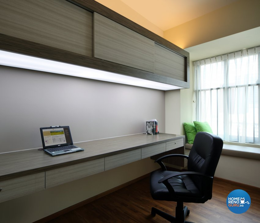 Classical, Minimalist, Rustic Design - Study Room - HDB 3 Room - Design by 2nd Phase Design