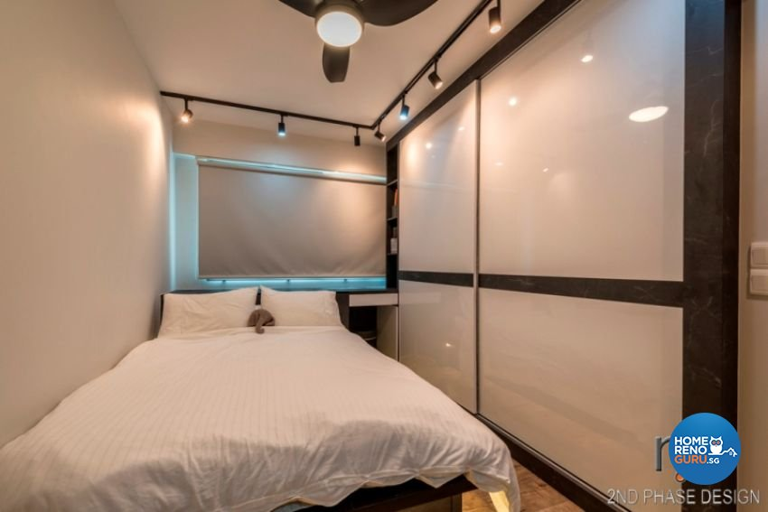 Industrial, Rustic, Scandinavian Design - Bedroom - HDB 3 Room - Design by 2nd Phase Design