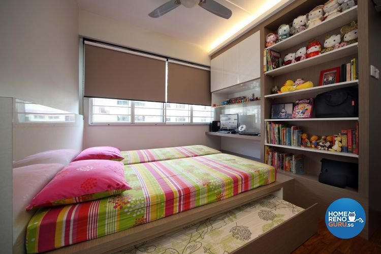Contemporary, Eclectic, Modern Design - Bedroom - HDB 5 Room - Design by 2nd Phase Design