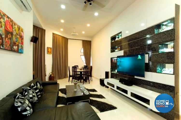 Modern, Retro, Scandinavian Design - Living Room - Condominium - Design by 2nd Phase Design