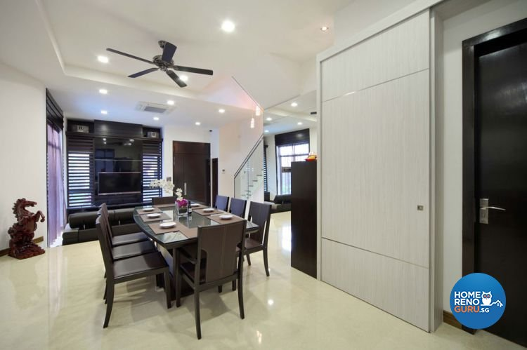 Contemporary, Minimalist, Modern, Scandinavian Design - Dining Room - HDB 5 Room - Design by 2nd Phase Design