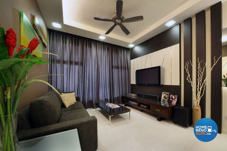Contemporary, Country, Resort, Rustic Design - Living Room - Condominium - Design by 2nd Phase Design