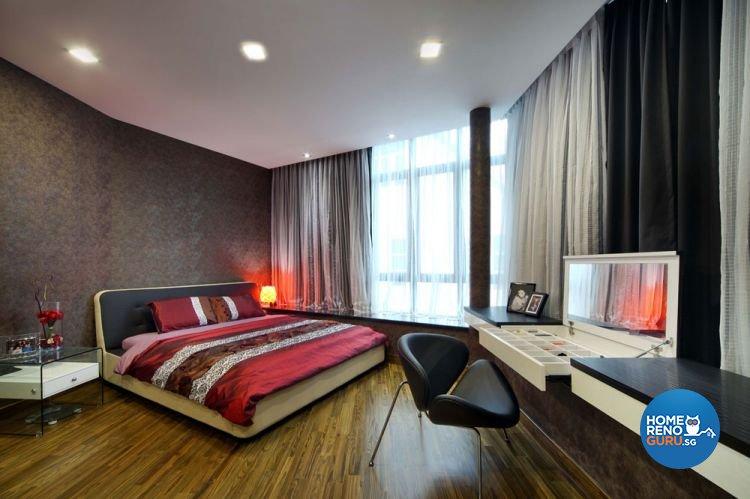 Contemporary, Country, Resort, Rustic Design - Bedroom - Condominium - Design by 2nd Phase Design