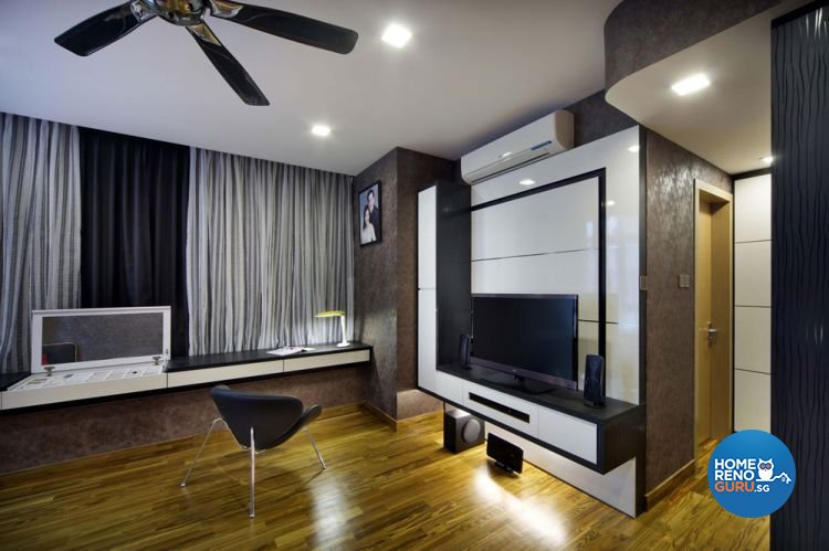 Contemporary, Country, Resort, Rustic Design - Study Room - Condominium - Design by 2nd Phase Design