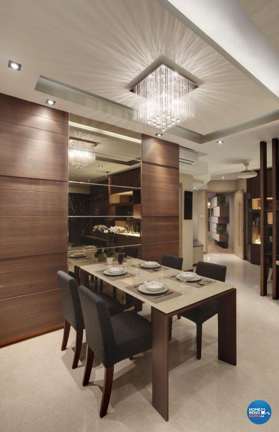 Contemporary Design - Dining Room - Condominium - Design by 3D Innovations Design Pte Ltd