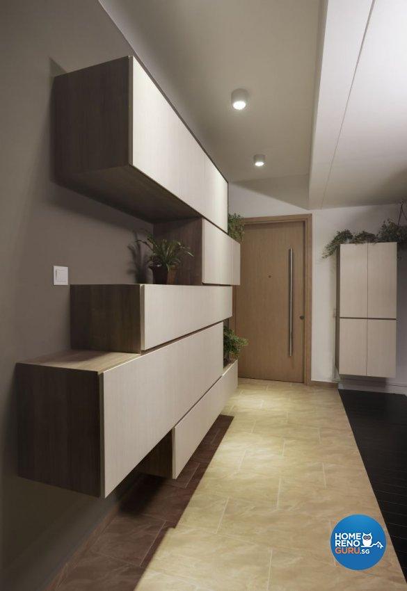 Contemporary Design - Living Room - Condominium - Design by 3D Innovations Design Pte Ltd