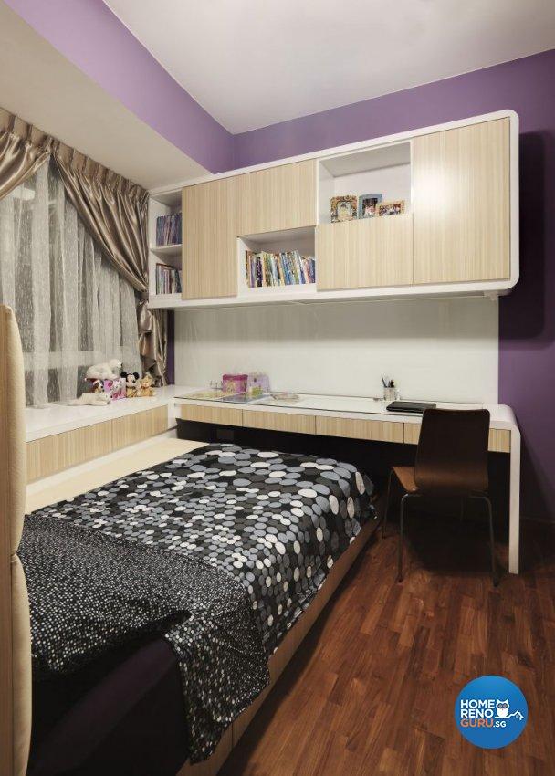 Contemporary Design - Bedroom - Condominium - Design by 3D Innovations Design Pte Ltd