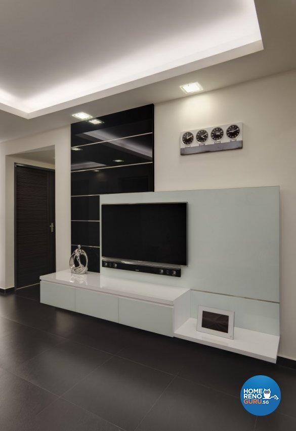 Modern Design - Living Room - HDB 5 Room - Design by 3D Innovations Design Pte Ltd
