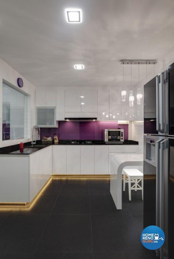 Modern Design - Kitchen - HDB 5 Room - Design by 3D Innovations Design Pte Ltd