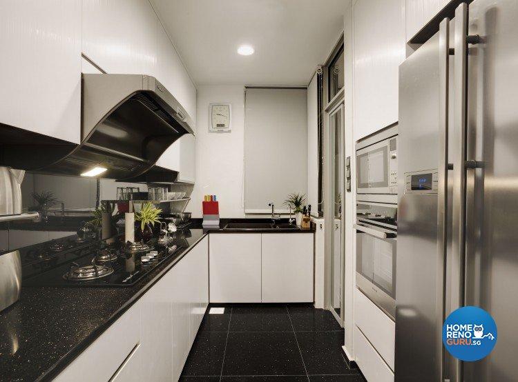 Contemporary Design - Kitchen - Condominium - Design by 3D Innovations Design Pte Ltd