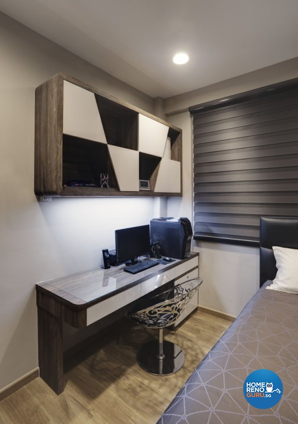 Contemporary Design - Study Room - Condominium - Design by 3D Innovations Design Pte Ltd