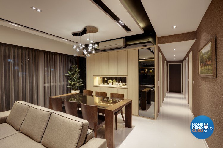 Contemporary Design - Dining Room - Condominium - Design by 3D Innovations Design Pte Ltd