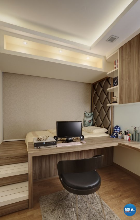 Contemporary Design - Bedroom - Condominium - Design by 3D Innovations Design Pte Ltd