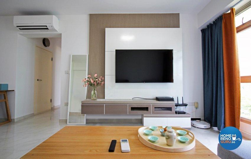 Others, Scandinavian Design - Living Room - HDB 4 Room - Design by 3+i DESIGN STUDIO