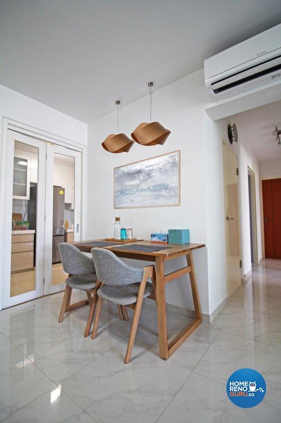 Others, Scandinavian Design - Dining Room - HDB 4 Room - Design by 3+i DESIGN STUDIO