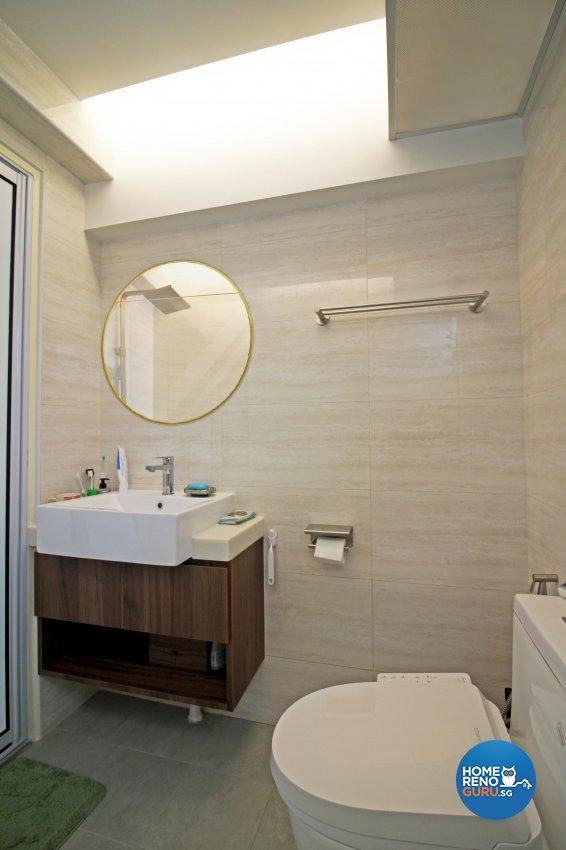 Others, Scandinavian Design - Bathroom - HDB 4 Room - Design by 3+i DESIGN STUDIO