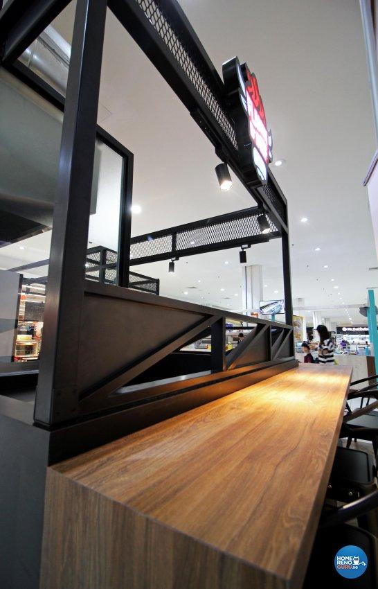 Industrial, Retro Design - Commercial - F&B - Design by 3+i DESIGN STUDIO