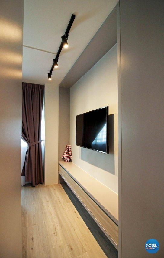 Modern, Scandinavian, Victorian Design - Bedroom - HDB 5 Room - Design by 3+i DESIGN STUDIO