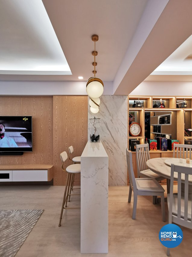 Contemporary, Others, Scandinavian Design - Dining Room - HDB 4 Room - Design by 3+i DESIGN STUDIO