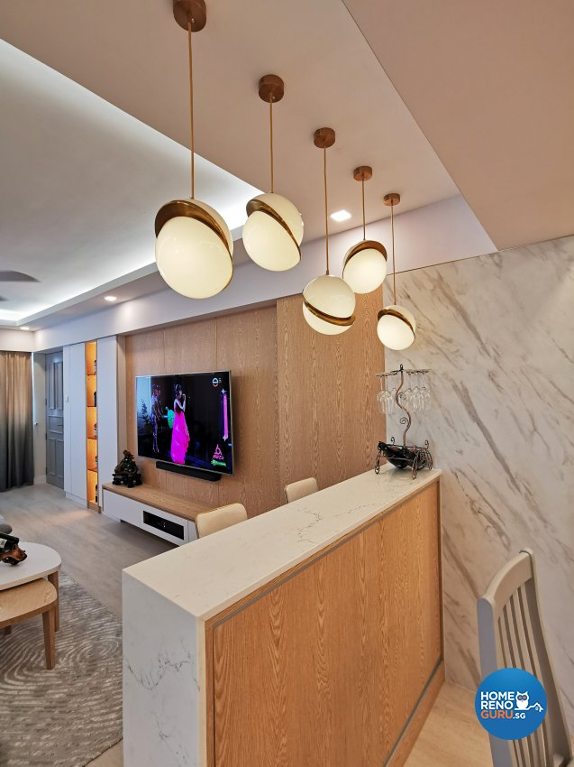 Contemporary, Others, Scandinavian Design - Entertainment Room - HDB 4 Room - Design by 3+i DESIGN STUDIO