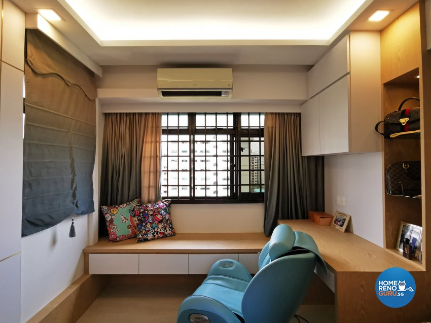 Contemporary, Others, Scandinavian Design - Bedroom - HDB 4 Room - Design by 3+i DESIGN STUDIO