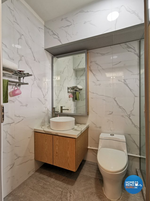 Contemporary, Others, Scandinavian Design - Bathroom - HDB 4 Room - Design by 3+i DESIGN STUDIO