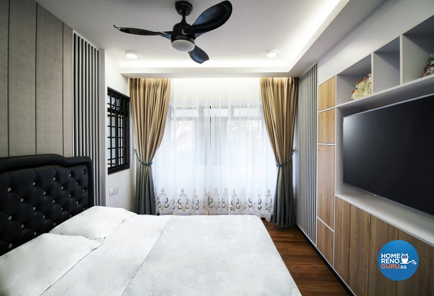 Contemporary, Modern Design - Bedroom - HDB 4 Room - Design by 3+i DESIGN STUDIO