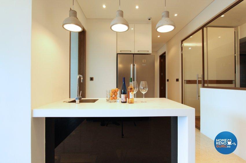 Contemporary, Modern Design - Kitchen - Condominium - Design by 4Mation ID Pte Ltd