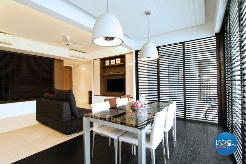 Contemporary, Modern Design - Dining Room - Condominium - Design by 4Mation ID Pte Ltd