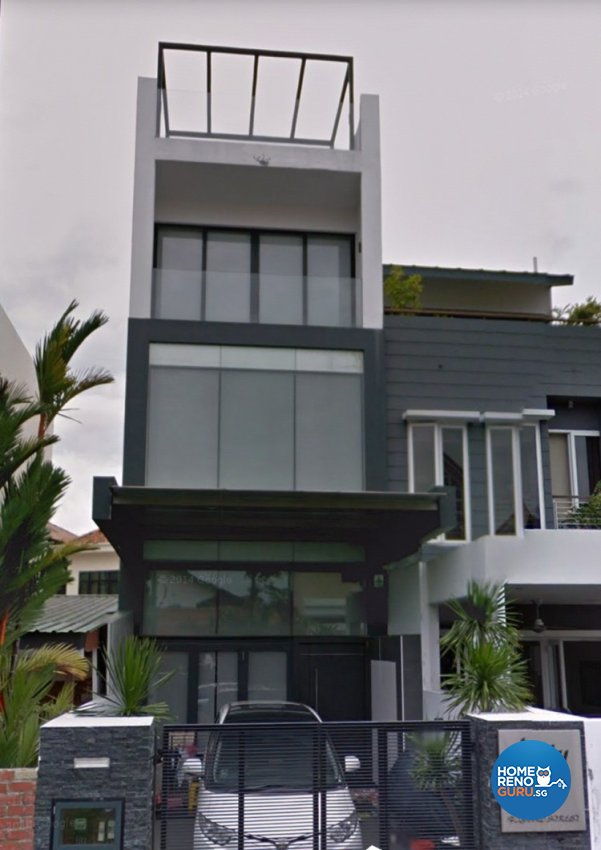 Modern Design - Balcony - Landed House - Design by 4Walls Group Pte Ltd