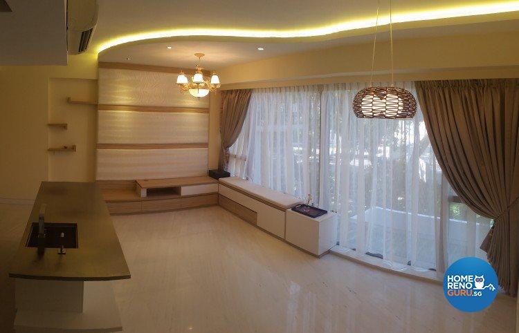 Classical Design - Living Room - Condominium - Design by 4Walls Group Pte Ltd