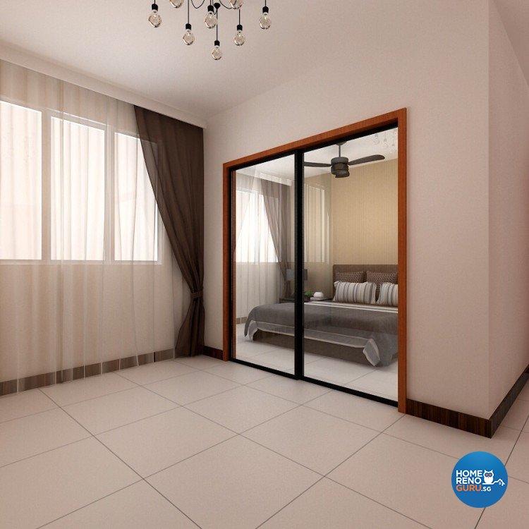 Scandinavian Design - Dining Room - HDB 4 Room - Design by 4Walls Group Pte Ltd