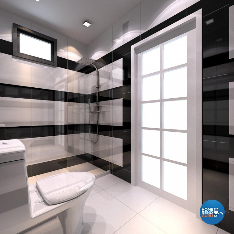 Modern Design - Bathroom - HDB 4 Room - Design by 4Walls Group Pte Ltd