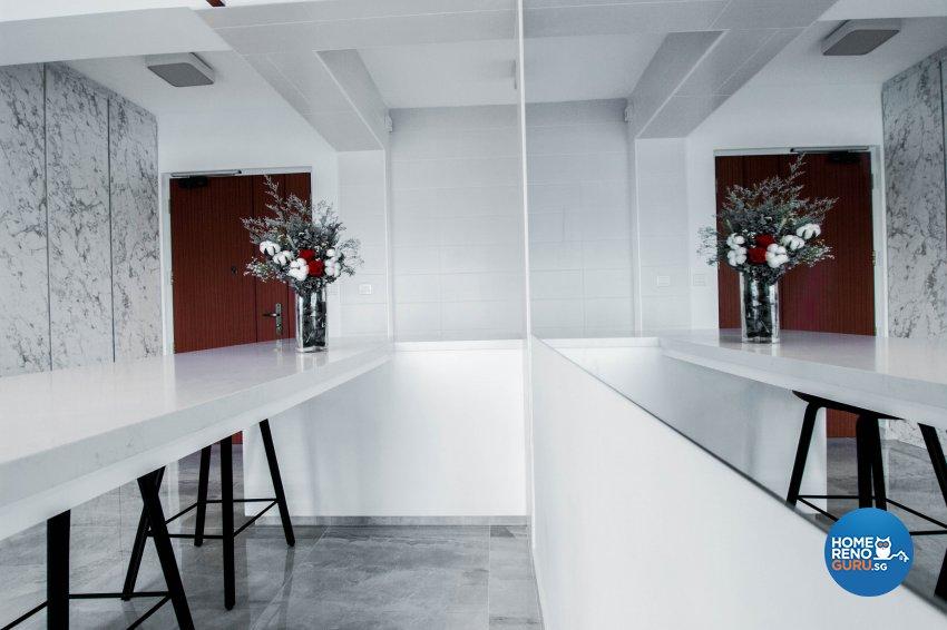 Contemporary, Scandinavian Design - Dining Room - HDB 3 Room - Design by 9 Creation Pte Ltd