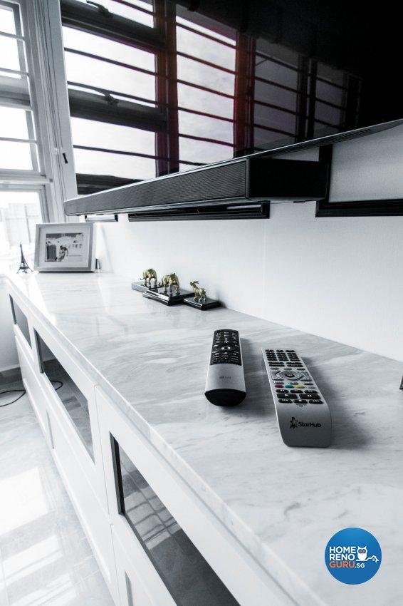 Contemporary, Scandinavian Design - Living Room - HDB 3 Room - Design by 9 Creation Pte Ltd