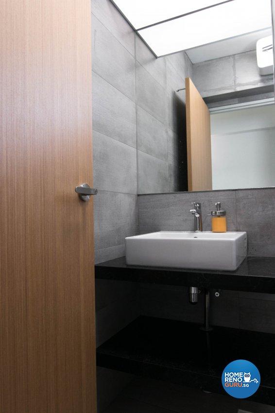 Contemporary, Scandinavian Design - Bathroom - HDB 3 Room - Design by 9 Creation Pte Ltd