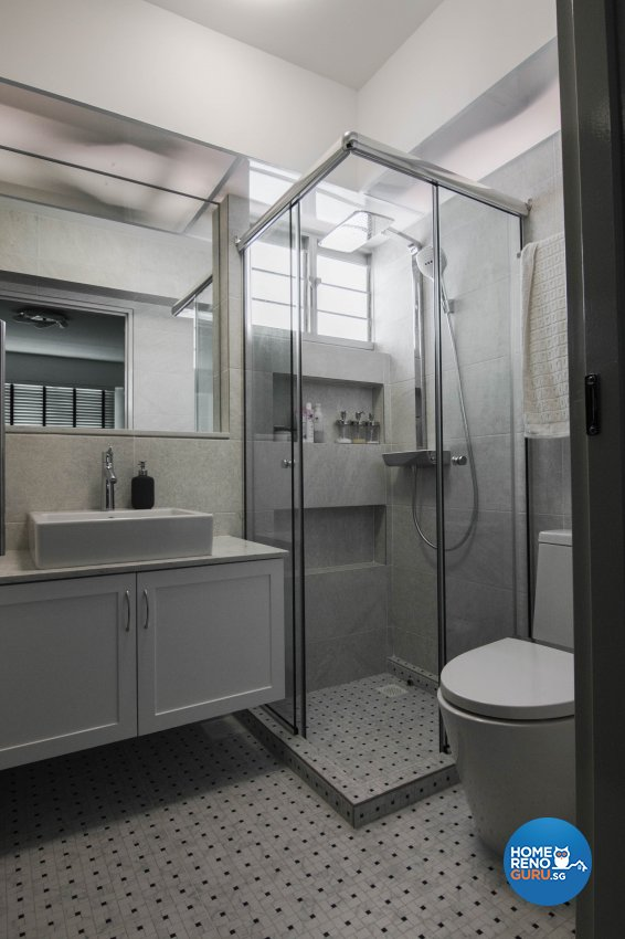 Contemporary, Scandinavian Design - Bathroom - HDB 3 Room - Design by 9 Creation Pte Ltd