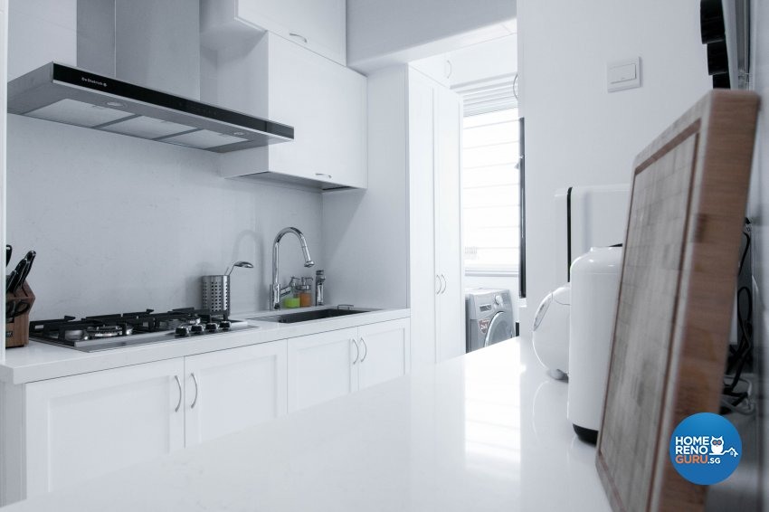 Contemporary, Scandinavian Design - Kitchen - HDB 3 Room - Design by 9 Creation Pte Ltd