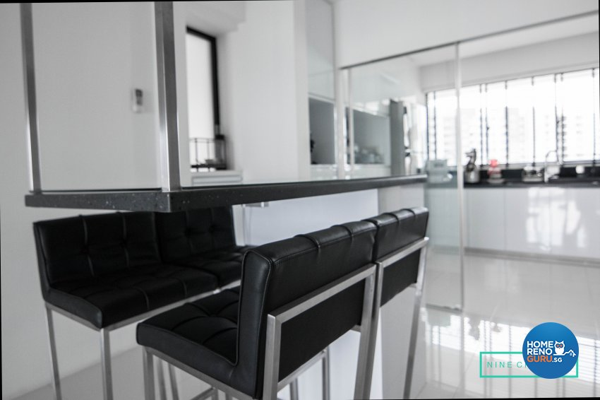 Modern Design - Dining Room - Condominium - Design by 9 Creation Pte Ltd
