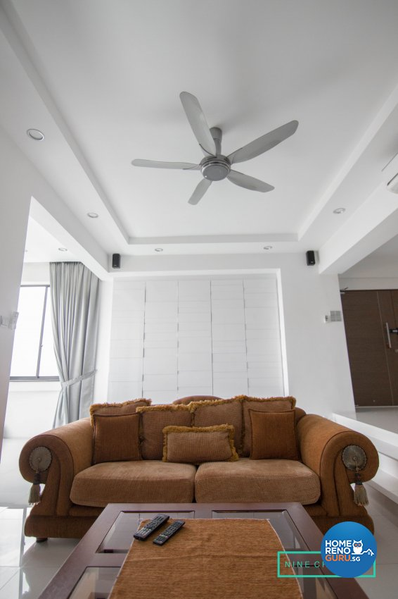 Modern Design - Living Room - Condominium - Design by 9 Creation Pte Ltd