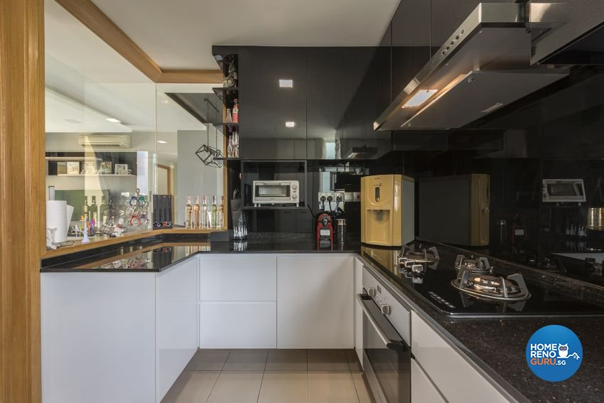 Contemporary, Modern Design - Kitchen - Condominium - Design by 9 Creation Pte Ltd