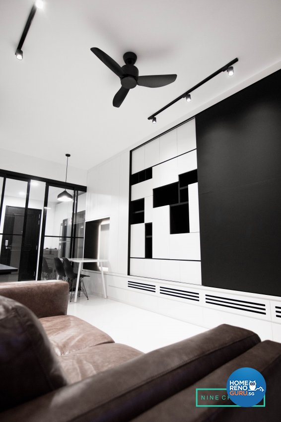 Minimalist Design - Living Room - Others - Design by 9 Creation Pte Ltd
