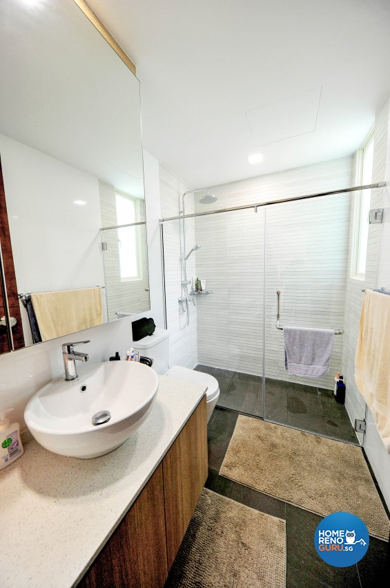Contemporary Design - Bathroom - Condominium - Design by 9 Creation Pte Ltd