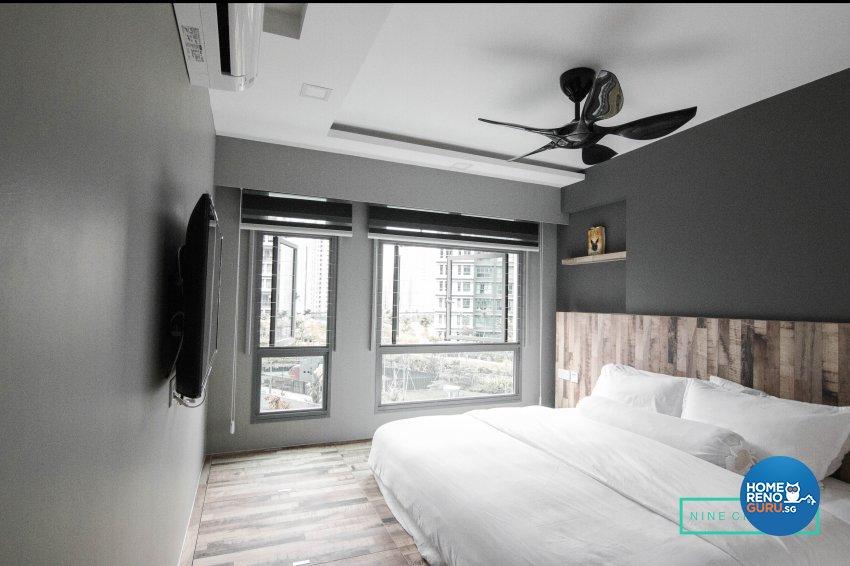 Contemporary, Modern Design - Bedroom - HDB 5 Room - Design by 9 Creation Pte Ltd