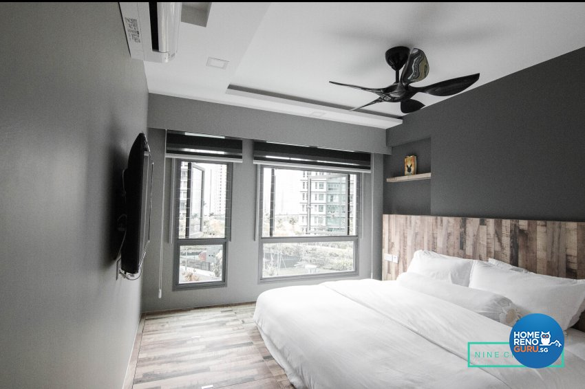 Contemporary, Modern Design - Bedroom - HDB 5 Room - Design by 9 Creation Pte Ltd